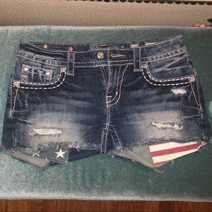 Miss Me American Flag🇺🇸 Shorts